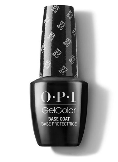 Opi Opi Gel Color Base Coat GC 010 Siyah
